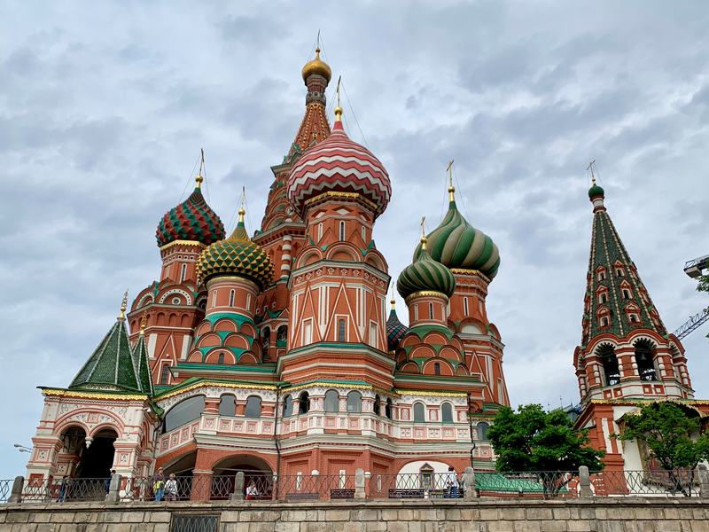 Saint Basil's Cathedral Moscow