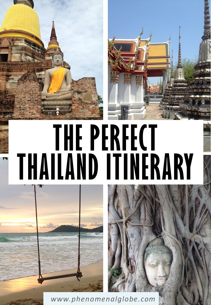Planning a 10 day trip to Thailand? This 10 day Thailand itinerary offers 2 options to make the most of 10 days in Thailand (includes Bangkok, Chiang Mai, Ayutthaya and more). #Thailand #thailanditinerary #travelplanning