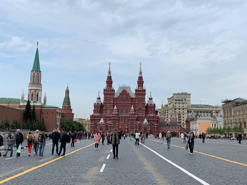 The Red Square Moscow Russia