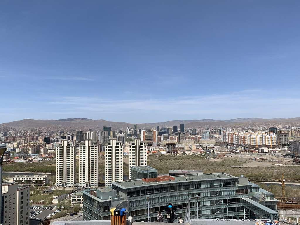 Ulaanbaatar skyline from Zaisan Memorial