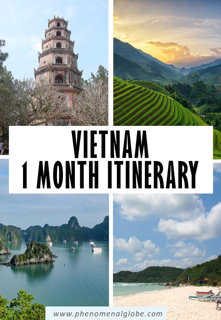 Planning a trip to Vietnam? This Vietnam itinerary will help you plan your trip and includes the best places to visit in Vietnam. #Vietnam #SEAsia #travelitinerary