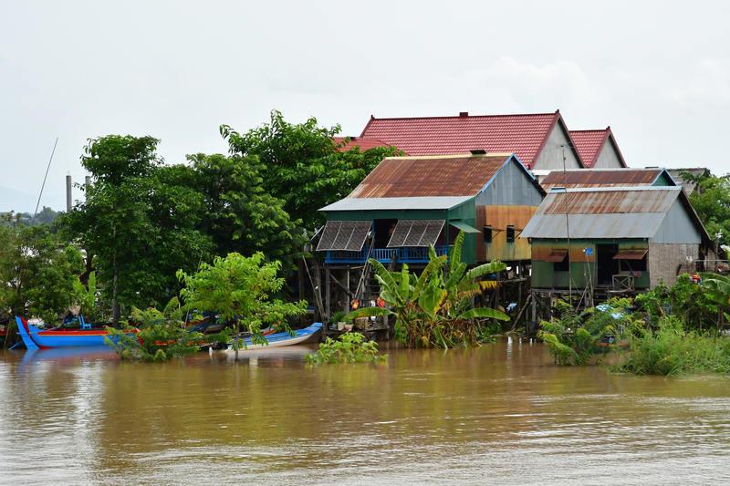 Kampong Chhnang Tonle Sap Lake