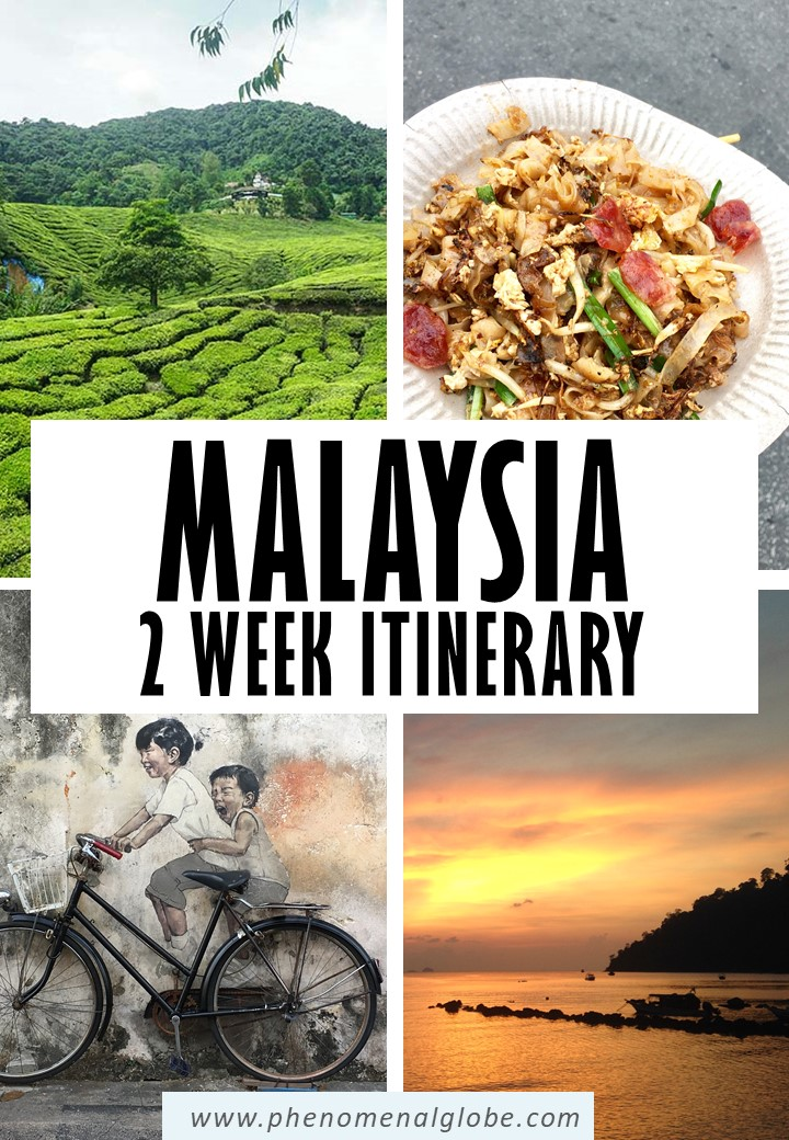 Planning a trip to Malaysia? This detailed 2 week Malaysia itinerary will help you make the most of your trip Includes Kuala Lumpur, Tioman, the Cameron Highlands and more. #Malaysia #TravelItinerary #SEAsia