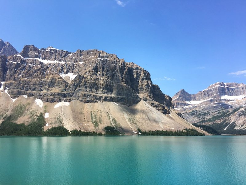 Bow Lake Alberta Canada