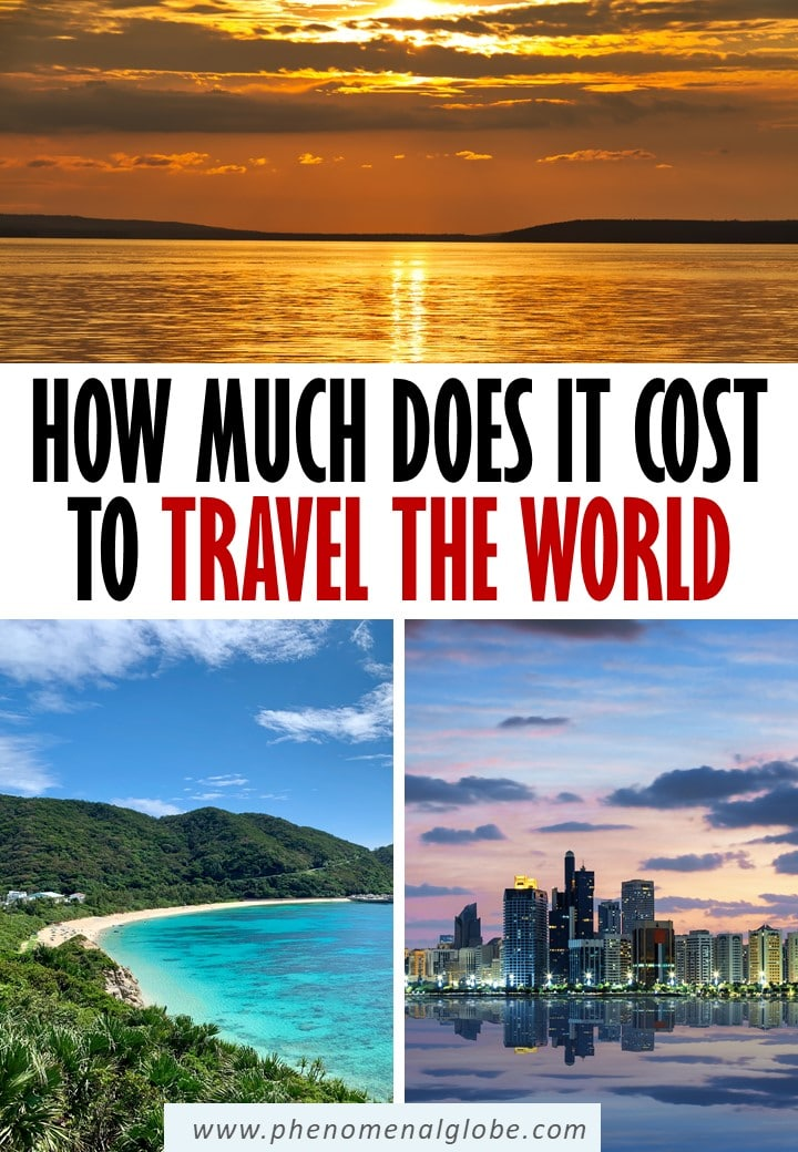 Wondering how much it costs to travel the world? We traveled 5 months in New Zealand and Southeast Asia, our total travel costs were €16.263/$18.141 for a couple. #traveltheworld #travelbudget