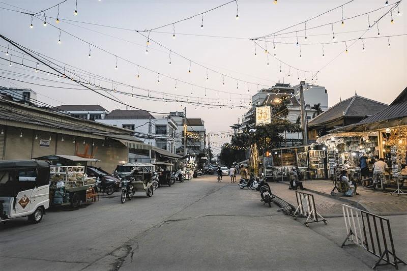 Siem Reap Town Cambodia