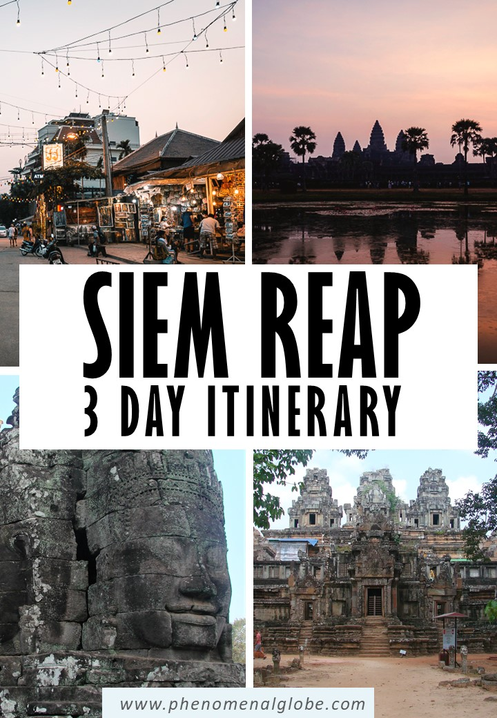 Planning a trip to Siem Reap, Cambodia? This 3 day Siem Reap itinerary with the best things to do in Siem Reap will help you make the most of your trip! #Cambodia #SiemReap #AngkorWat