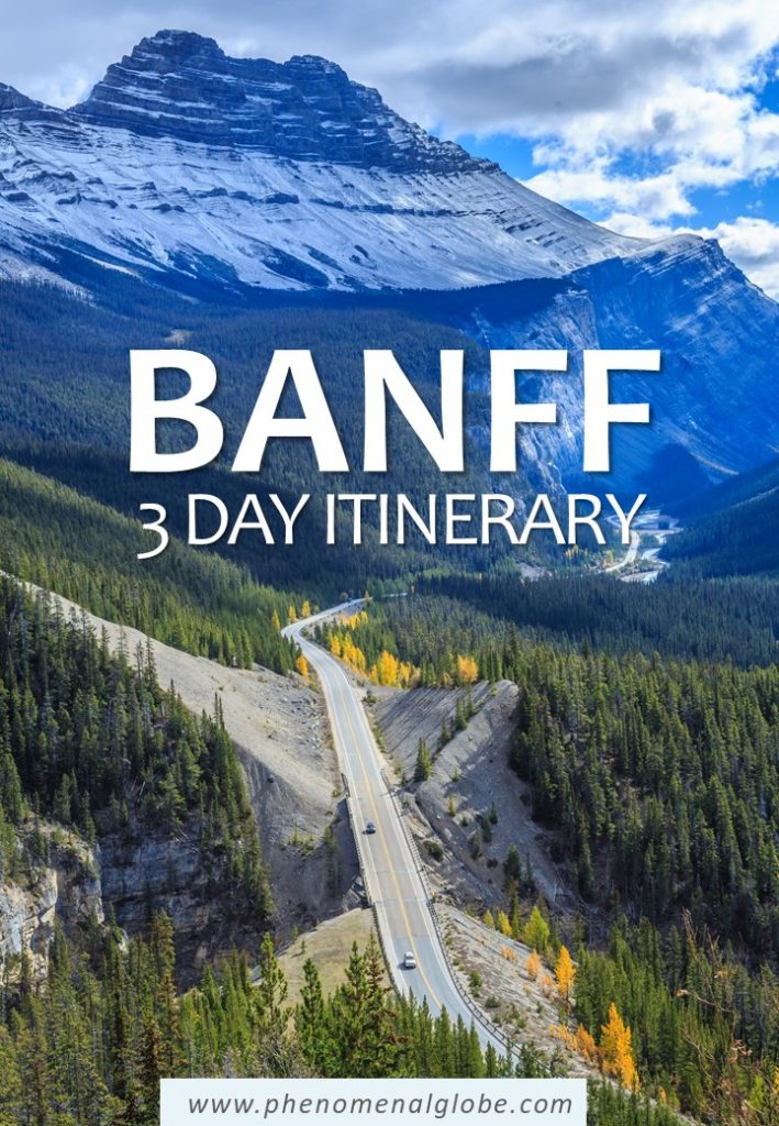 A detailed Banff itinerary to make the most of your 3 days in Banff! Including the best things to do in Banff in summer, where to stay and how to get there. #Banff #Canada #BanffNationalPark