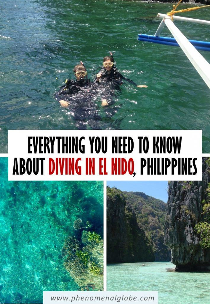 Planning to go diving in El Nido? Read everything you need to know about El Nido diving and doing a PADI Open Water Course here (costs, dive sites, etc). #Philippines #ElNido #Palawan