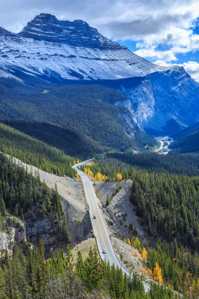 Icefield Parkway Canadian Rocky Mountains