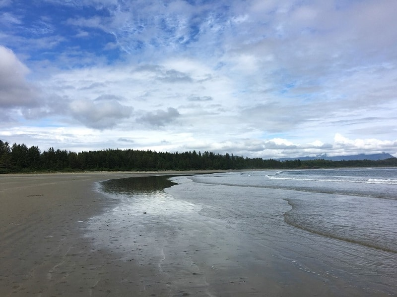 Long Beach in the Pacific Rim National Park Reserve