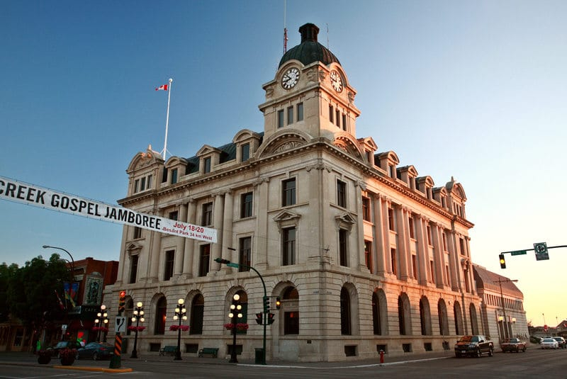 Moose Jaw City Hall in Saskatchewan