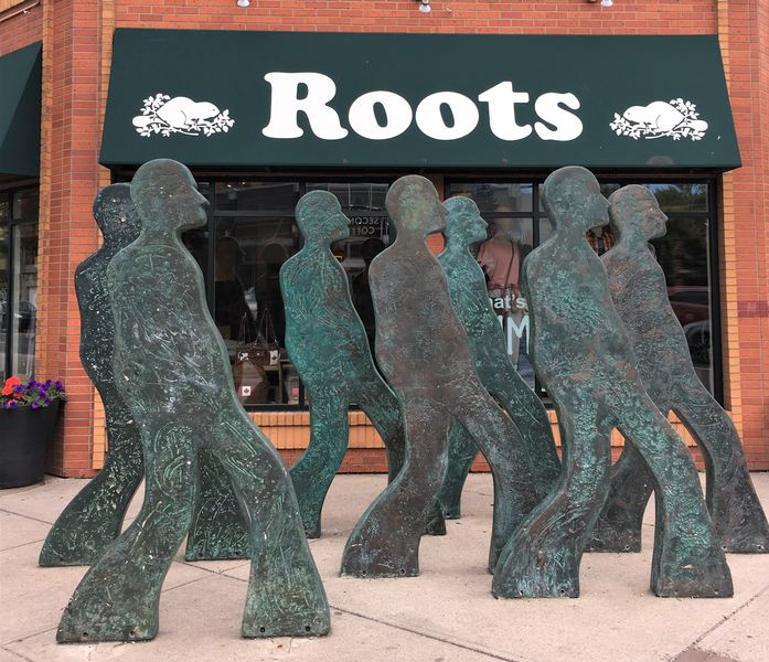 Sculpture in Calgary