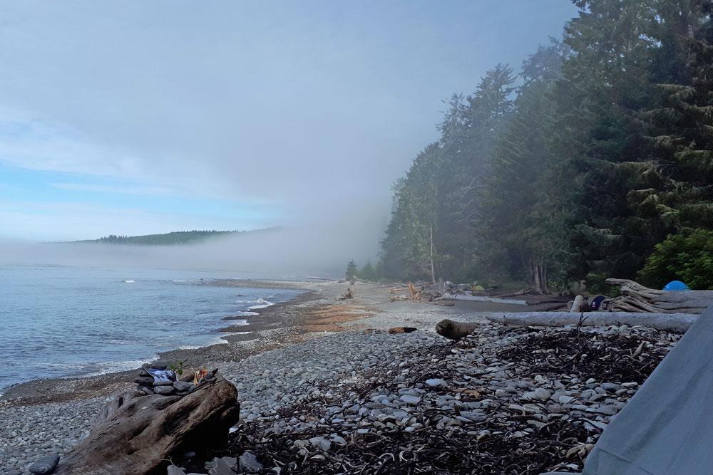 Sombrio Beach Camp Vancouver Island