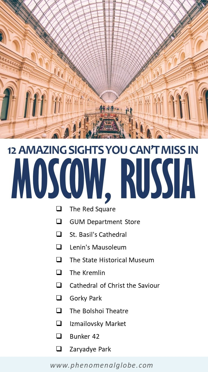 Planning a trip to Moscow? Click through to read about the best things to do in Moscow and practical information to plan your Moscow trip. #Moscow #Russia #CityTrip