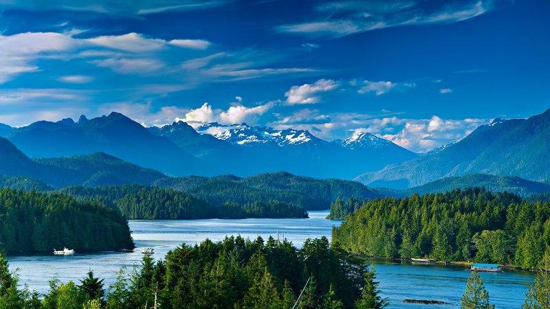Tofino bay Vancouver Island