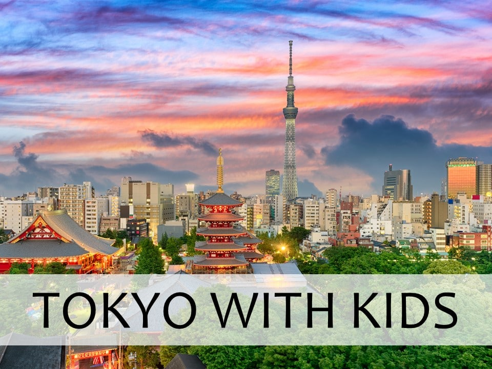 Tokyo with kids travel guide