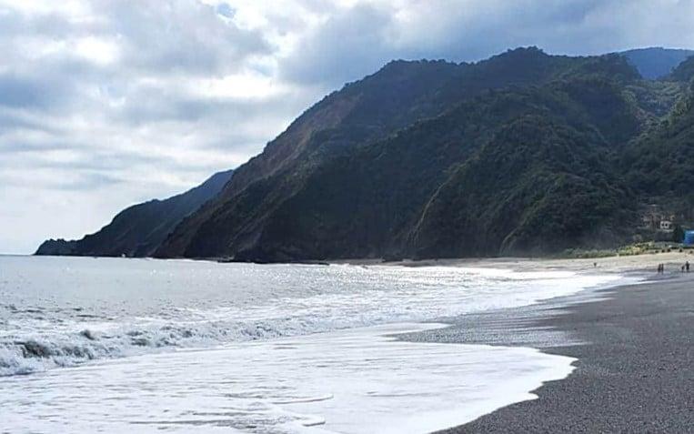 Neipi Beach in Yilan County Taiwan