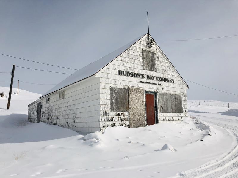 Nunavut Iqaluit Hudson Bay Buildings - photo by Voyageur Tripper