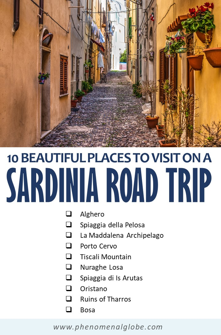 Planning a trip to Sardinia? This one week Sardinia itinerary will help you discover the best things to do on Sardinia (including travel budget information, where to stay and how to get around Sardinia). #Sardinia #Europe #roadtrip