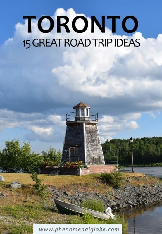 Looking for the best road trips from Toronto? Read about 15 great day trips and weekend getaways from Toronto by car (including map and driving distances). #Toronto #Ontario #Canada #RoadTrip