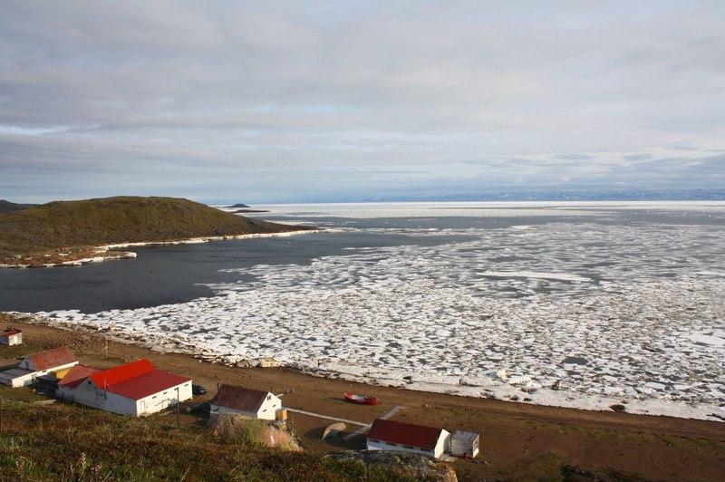 View from Apex Iqaluit Nunavut - photo by Voyageur Tripper