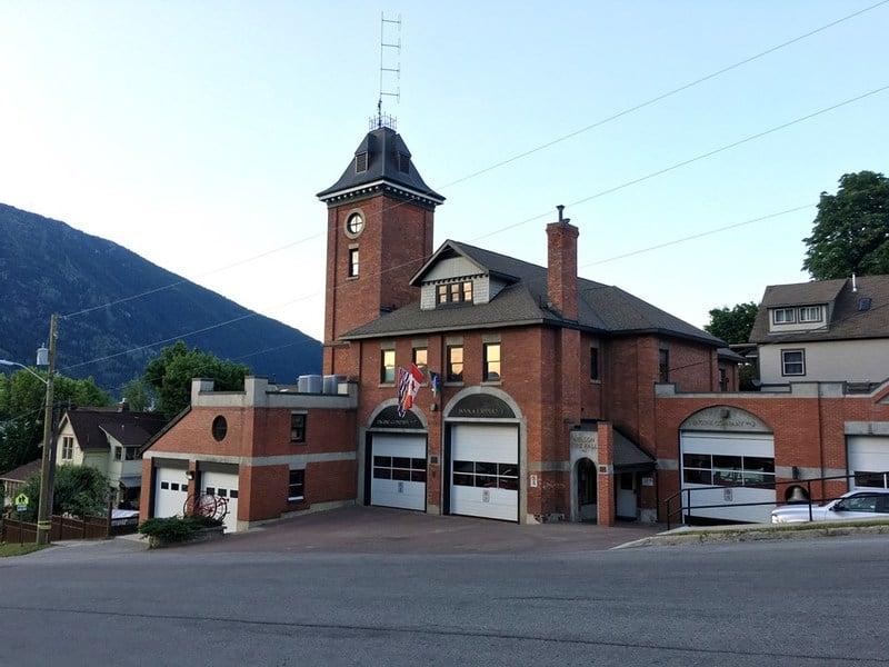 Firehall Nelson BC