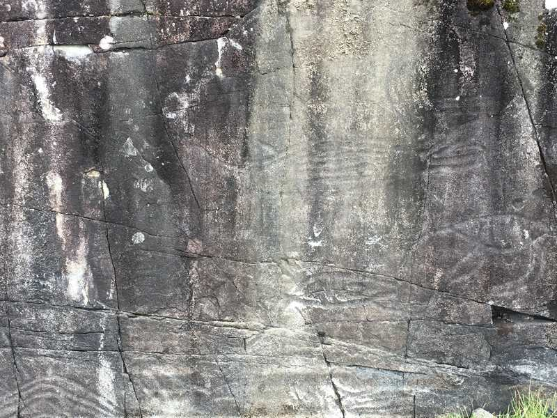 Petroglyph Vancouver Island BC