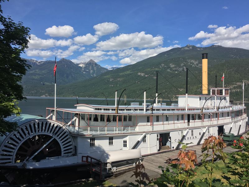 S.S. Moyie National Historic Site in Kaslo BC
