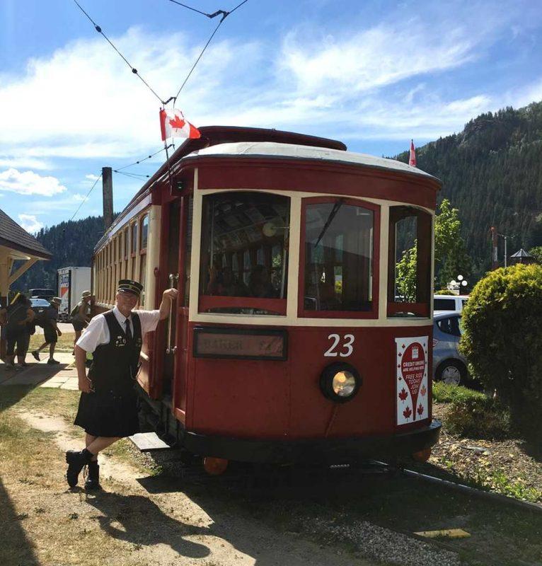 Streetcar 23 Nelson BC Canada