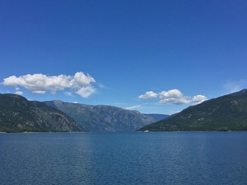 Upper Arrow Lake British Columbia