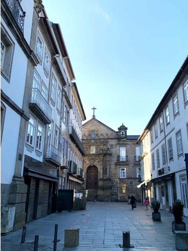 Braga city center