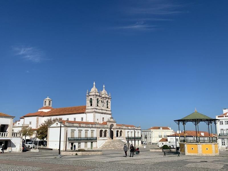 Nazaré central square