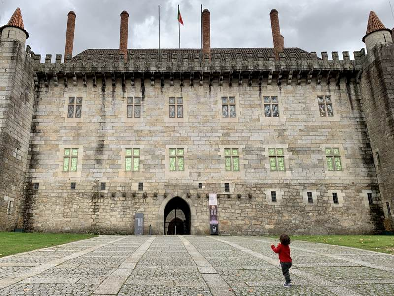 Palace of the Dukes Guimaraes Portugal
