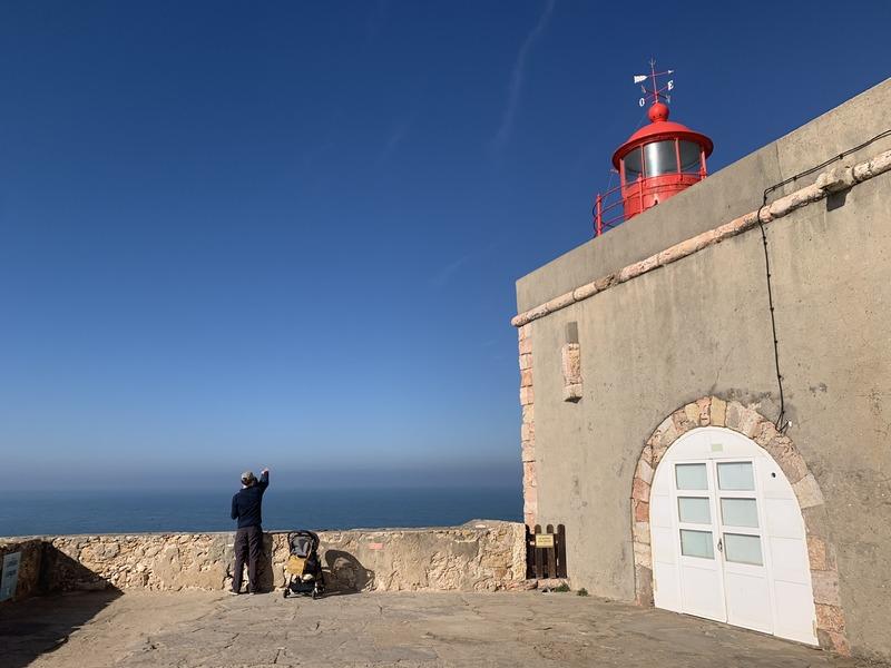 View from the Farol de Nazaré
