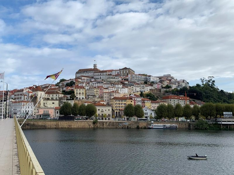 View of Coimbra Portugal