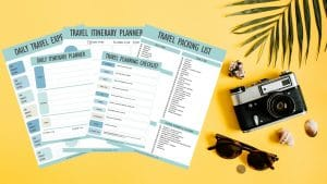 Travel planning bundle lead magnet