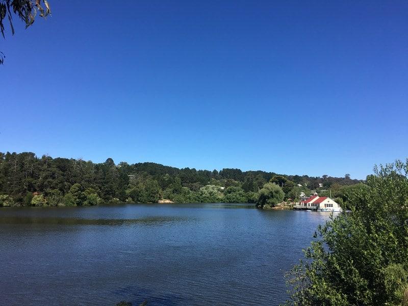 Lake Daylesford Australia