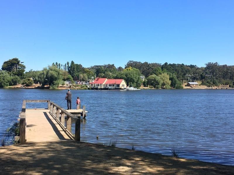 Lake Daylesford Victoria