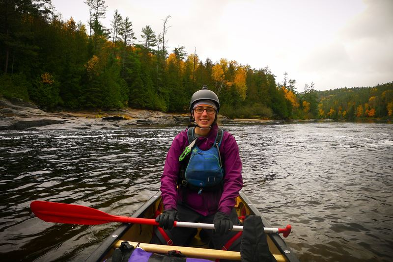 Canoeing Coulonge River