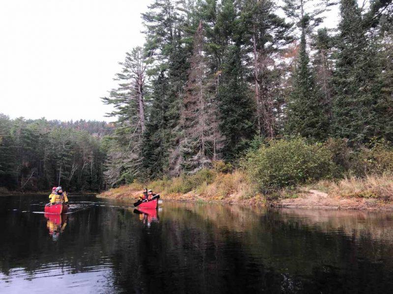 Dumoine River Canoe Trip - Paddling Quebec
