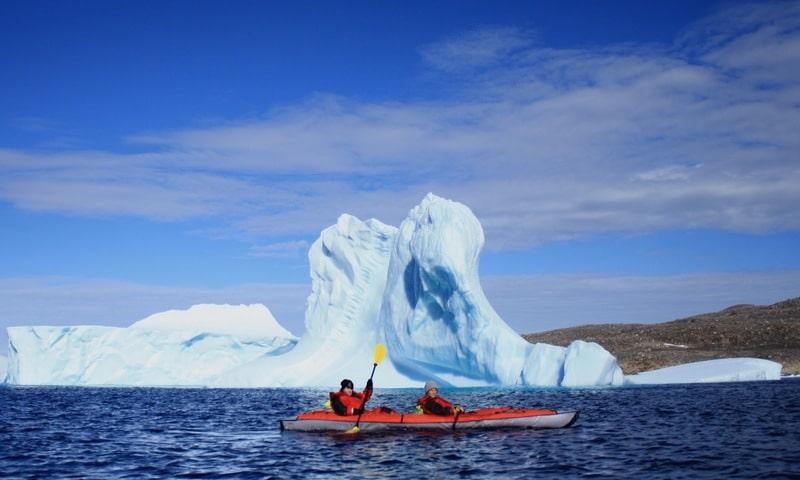 Iqaluit Nunavut - Kayaking Arctic Ocean