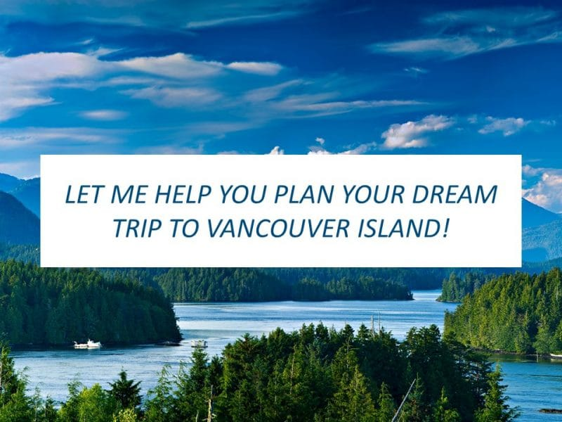 Vancouver Island itinerary planning