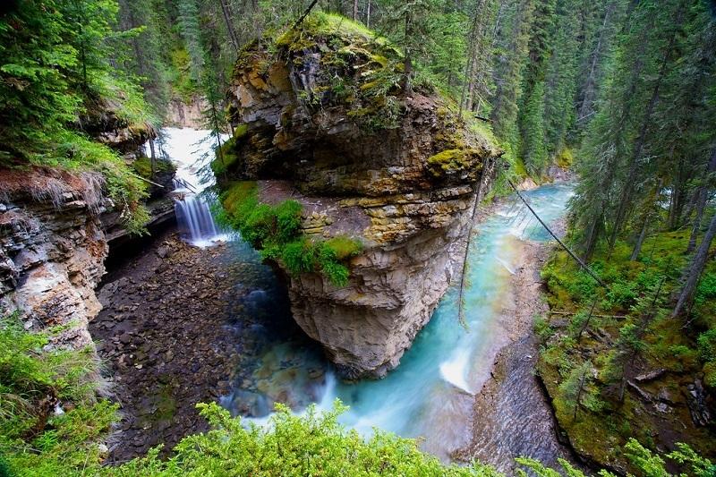 johnston-canyon-canadian-rockies-itinerary